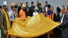 PM Modi Hands Over Chadar to be Offered at Ajmer Sharif Dargah on Feb 25