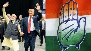 Gujarat Congress Warns of Protest at Stadium During Donald Trump Visit