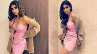 Mouni Roy Rocks Her Seductive Look in Little Pink Dress as She Parties Hard on Saturday Night