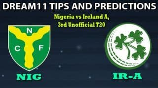 NAM vs IR-A Dream11 Team Prediction, Namibia vs Ireland Wolves 2020, 3rd T20