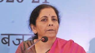 GST Compensation Cess Worth Rs 20,000 to be Disbursed to All States: Nirmala Sitharaman