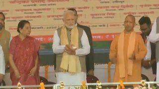 PM Modi Lays Foundation Stone of Bundelkhand Expressway in UP's Chitrakoot