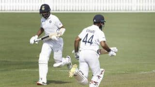 क्राइस्टचर्च टेस्ट: शॉ, विहारी और पुजारा ने जड़े अर्धशतक; पहले दिन 179 रन से पीछे न्यूजीलैंड