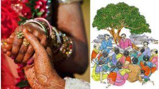 प्रेम विवाह पर पंचायत का फरमान, समाज में शामिल होना है तो दंपति पिए गोमूत्र व खाए गोबर