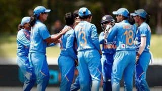 ICC Women   s T20 World Cup Warm-Up: Poonam Yadav   s 3 Wickets Helps India Pip West Indies By 2 Runs