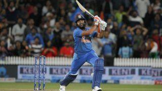 New Zealand vs India, 5th T20I: रोहित शर्मा की अर्धशतकीय पारी के दम पर भारत ने बनाए 163/3 का स्कोर