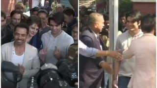 प्रियंका गांधी के बेटे रेहान ने पहली बार डाला वोट, दिल्ली औरछात्रों के लिए दिया ये बड़ा बयान