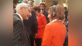 अमेरिकी प्रतिनिधि सभा की अध्यक्ष नैंसी पेलोसी से मिले विदेश मंत्री जयशंकर, लिखा ये खास संदेश