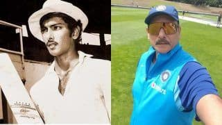 Throwback Thursday: Ravi Shastri Returns to Basin Reserve, 39 Years After His India Debut