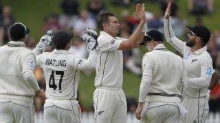 टिम साउदी ने झटका पांच-विकेट हॉल; वेलिंगटन में 10 विकेट से हारी टीम इंडिया