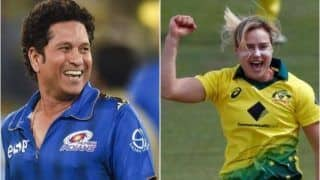 Sachin Tendulkar Responds to Ellyse Perry's Request, Decides to Come Out of Retirement to Face One Over From Australia All-Rounder