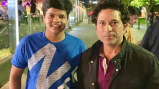 Young Shafali Verma Fulfills Childhood Dream of Meeting Sachin Tendulkar