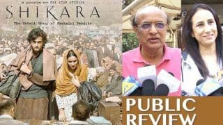 Shikara Public Review: It Shows The Pain of Kashmiri Pandits