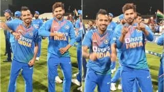 Yuzvendra Chahal, Shreyas Iyer Win Over Internet With Victory Dance Moves After India's Clean Sweep of New Zealand | WATCH VIDEO
