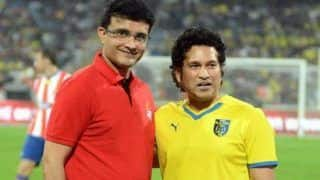 Kismat Acha Hai   : Sourav Ganguly   s Witty Reply To Sachin Tendulkar   s Instagram Post Leaves Fans In Splits