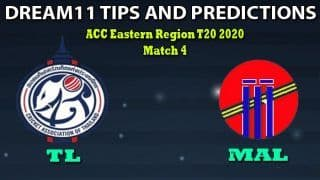 TL vs MAL Dream11 Team Prediction, ACC Eastern Region T20 2020, Match 4