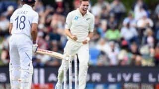 Latest sports news india vs new zealand 2nd test tim southee takes virat kohlis wickets for record 10 time in international cricket 3957110
