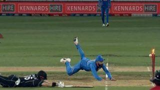 भारतीय कप्तान की 'हवाई छलांग' को देख ICC को भी नहीं हुआ विश्वास, पूछा ये विराट कोहली हैं या जोंटी रोड्स?