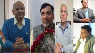 दिल्ली सरकार के मंत्रियों के बीच विभागों का बंटवारा, मनीष सिसोदिया को सबसे ज्यादा विभाग मिले!