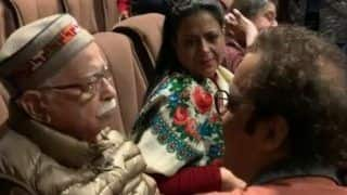 Watch | BJP Veteran LK Advani Struggles to Hold Back Tears After Watching Vidhu Vinod Chopra's Shikara