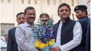 दिल्ली में 'आप' की जीत परअखिलेश यादवने कहा- देश की शांति के लिएये शुभ संकेत,काम बोलता है