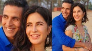 Akshay Kumar And Katrina Kaif Pose For The Cutest Picture From Sets of Sooryavanshi