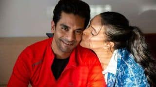 'Wish I Wake up to Your Kisses'! Angad Bedi Gets a Lovely Birthday Wish From Wife Neha Dhupia