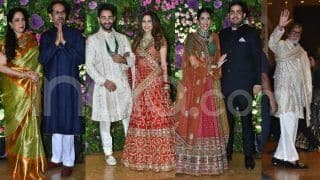 Armaan Jain's Wedding Reception: Amitabh Bachchan, Uddhav Thackeray, The Ambanis And Others Bless Newlyweds
