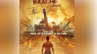 Baaghi 3 Poster: जंग के मैदान में दुश्मनों से भिड़ेंगे टाइगर श्रॉफ, पोस्टर है खतरनाक!
