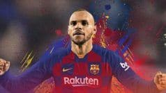 Football: Leganes Striker Martin Braithwaite Signs With FC Barcelona Till 2024