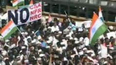 Watch: Anti-CAA Protests March Towards State Secretariat in Chennai