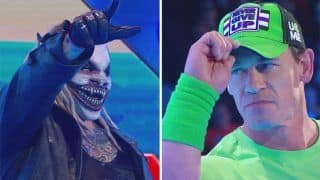 WWE Smackdown Results: Returning John Cena Accepts The Fiend's Wrestlemania Challenge