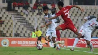 I-League: Plaza's Stoppage-Time Goal Hands Churchill Brothers Thrilling Win Over Aizawl FC