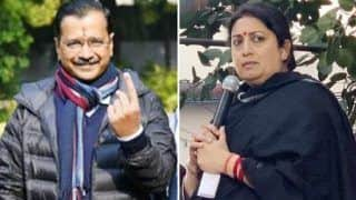 Delhi Assembly Election 2020: 'Women Not Capable to Decide on Their Own?' Smriti Irani Asks Arvind Kejriwal