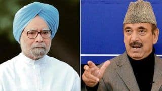 After Adhir Chowdhury, Manmohan Singh, Ghulam Nabi Azad Not to Attend Banquet at Rashtrapati Bhavan on Feb 25