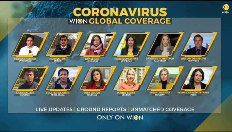 The Most Extensive Global Coverage on Coronavirus by WION
