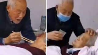 Watch | Video Of Chinese Man Feeding His Wife Infected With Coronavirus Leaves People Heartbroken