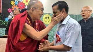 You Are Showing Path to India, Dalai Lama Congratulates Kejriwal; Mamata to Attend Swearing-in