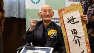 112-Year-Old Chitetsu Watanabe From Japan Crowned as World's Oldest Male, Says Smiling is the Secret