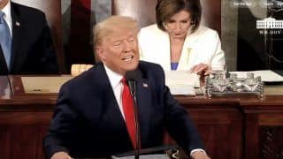 Donald Trump Delivers Third State of The Union Address Amid Impeachment Trial