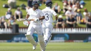 वेलिंगटन टेस्ट: तीसरे दिन ट्रेंट बोल्ट के शानदार गेंदबाजी के सामने भारत 144/4