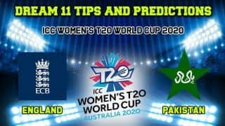 Dream11 Team Prediction EN-W vs PK-W, ICC Women's T20 World Cup 2020, Match 12: Captain And Vice-Captain, Fantasy Cricket Tips England vs Pakistan Junction Oval, Melbourne 1:30 PM IST