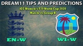 EN-W vs WI-W Dream11 Team Prediction, ICC Women   s T20 World Cup 2020, Match 16, Group B