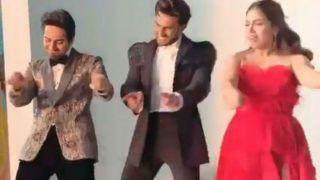 Filmfare Awards 2020: Bhumi, Ranveer, Ayushmann Celebrate Their Win by Dancing on 'Yaar Bina Chain Kahan Re'