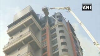 Fire Breaks Out at High-Rise in Navi Mumbai, Firefighting Operation Currently Underway
