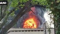 महाराष्ट्र: डोंबिवली इंडस्ट्रियल एरिया में केमिकल फैक्ट्री में लगी आग, कई दमकल मशीनें लगाई