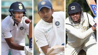 India vs New Zealand Tour Match, Day 1: Ducks for Prithvi Shaw, Shubhman Gill; Mayank Agarwal Goes For One