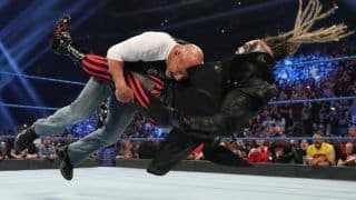 WWE Smackdown Results: Goldberg Lays Down The Fiend, Elias and Strowman Win Symphony of Destruction Match