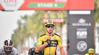 Dylan Groenewegen Wins Star-Studded Sprint, Adam Yates Retains Red Jersey at UAE Tour 2020
