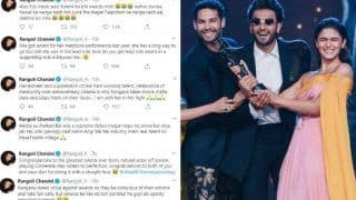 Rangoli Chandel Blasts Filmfare For Gully Boy's Win, Calls Out Karan Johar, Alia Bhatt For Awarding 'Nepo Gandagi'